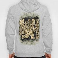 Aztec Eagle Warrior Hoody