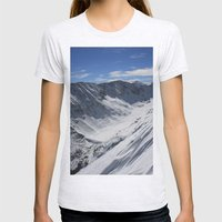 Blue Lakes Womens Fitted Tee Ash Grey SMALL