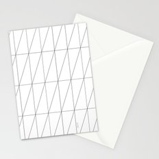 Inverted Triangles by Friztin Stationery Cards