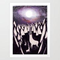 Idolize Art Print