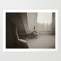 The quiet room Art Print