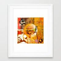 Never In A Million Years… Framed Art Print