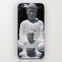 Big Buddha And Little Bu… iPhone & iPod Skin