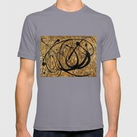 Onyx - landscape format Mens Fitted Tee Slate SMALL