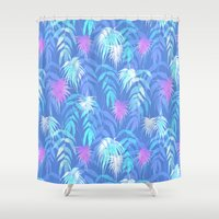 New Palm Beach - Summer Shower Curtain