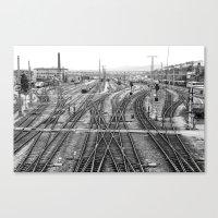 All Trains Lead to Vienna Canvas Print
