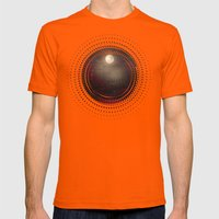 Red Sounds like Poem Mens Fitted Tee Orange SMALL