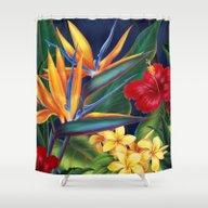 Tropical Paradise Hawaii… Shower Curtain