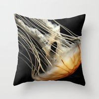 Jellyfish 1 Throw Pillow