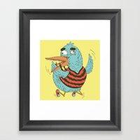Rubro Duck Framed Art Print