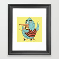 Rubro duck Framed Art Print