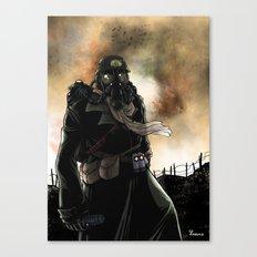 Le dernier survivant / The last survivor Canvas Print