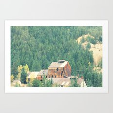 Rusty Nature Art Print