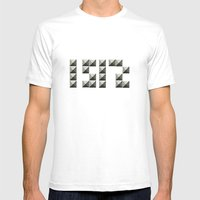 1512 Mens Fitted Tee White SMALL