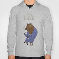 Tea Time with a Bison Hoody