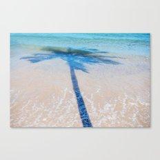 TREE IN SEA Canvas Print