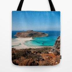 Balos Beach Tote Bag