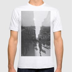 fashion quay Mens Fitted Tee Ash Grey SMALL