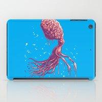 the zombie octopus iPad Case