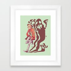 give me something i would kill for Framed Art Print
