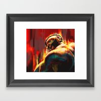 Break Framed Art Print