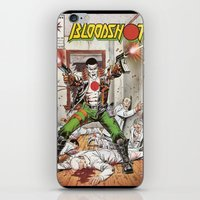 Bloodshot Shooting iPhone & iPod Skin