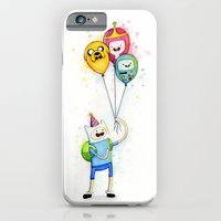Finn With Birthday Ballo… iPhone 6 Slim Case