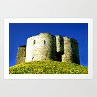 York Tower Art Print