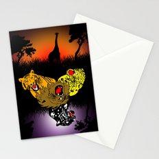 Big Cat Safari Stationery Cards