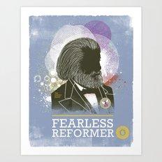 Fearless: Reformer Art Print