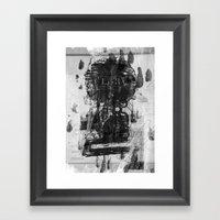 Ride The Glory  Framed Art Print