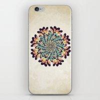 Maple Samaras Flower Mandala iPhone & iPod Skin