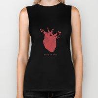 Hearts are Gross Biker Tank