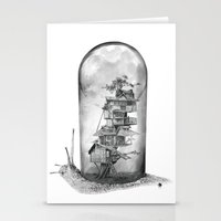 Snail - Evolving Home Stationery Cards
