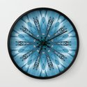 Spicy sunset Wall Clock