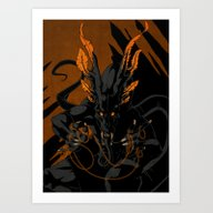 Art Print featuring Threads by Shiksart
