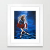 The Decay Framed Art Print
