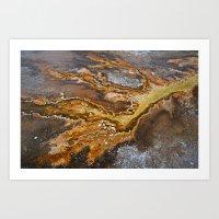 Geyser Hill At Old Faith… Art Print