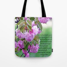 Mother's Day Poem  Tote Bag