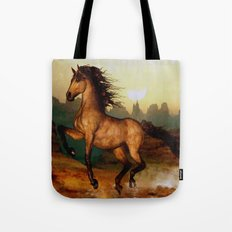 HORSE-Prairie dancer Tote Bag