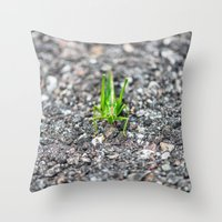 Grashopper Throw Pillow