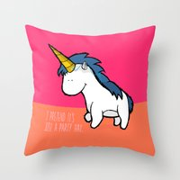 I Pretend It's Just A Pa… Throw Pillow