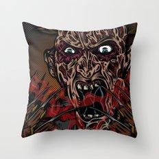 Keep Dreamin' Krueger Throw Pillow
