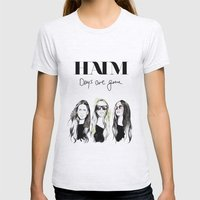 Haim Days are gone Womens Fitted Tee Ash Grey SMALL