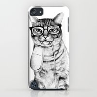 iPhone Cases featuring Mac Cat by florever