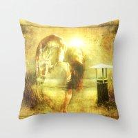 Angel Spirit Throw Pillow