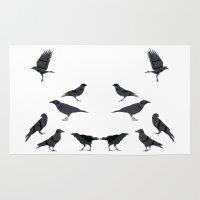 Kargalar (crows) Rug
