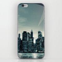 Manhattan Night iPhone & iPod Skin
