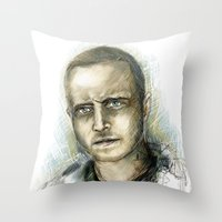 Jesse Pinkman - Breaking Bad Throw Pillow