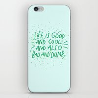 Life Is Everything iPhone & iPod Skin
